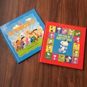 2 Hardback Peanuts Books